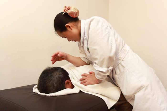 Acupuncture treatment TCM clinic Shenzhou Amsterdam